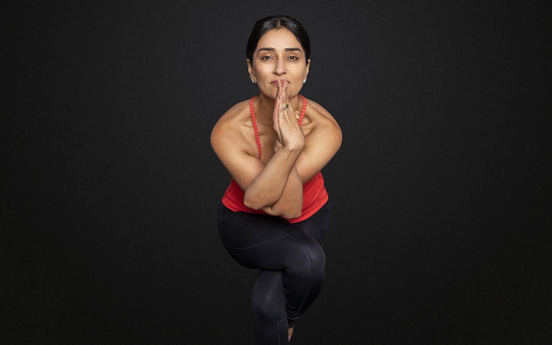 Yoga to unlock stress